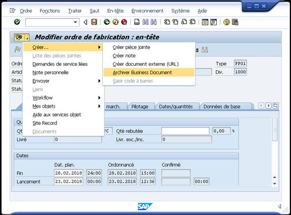 BDS1 Comment lier des documents Business Document Services (BDS) via les services objets SAP ?