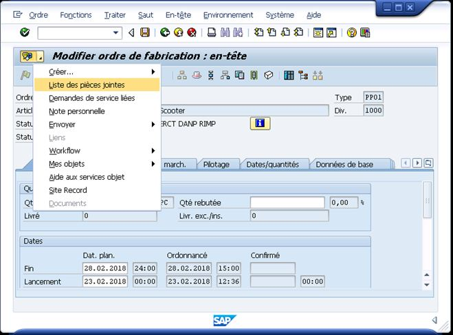 BDS7 Comment lier des documents Business Document Services (BDS) via les services objets SAP ?