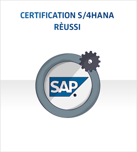 Certification S/4HANA rèussi